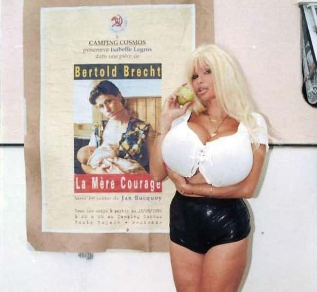 Lolo Ferrari's Breasts Led is listed (or ranked) 9 on the list People Who Died (And Almost Died) From Having Huge Breasts
