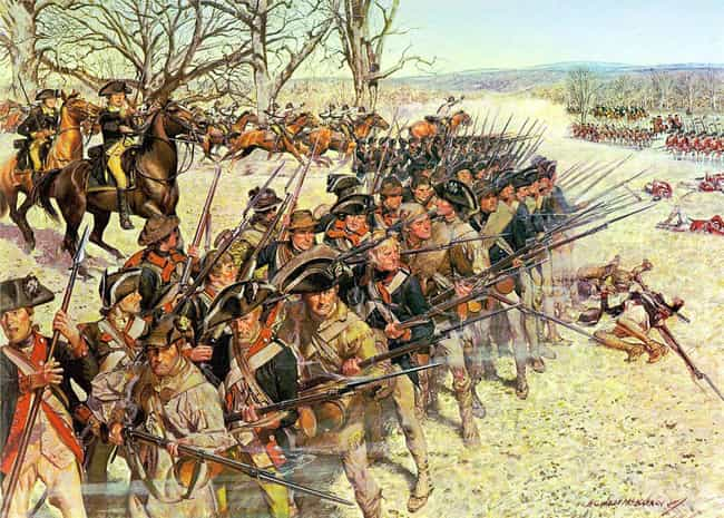 Revolution! The Continental Ar... is listed (or ranked) 1 on the list A Visual History Through 24 American Military Uniforms