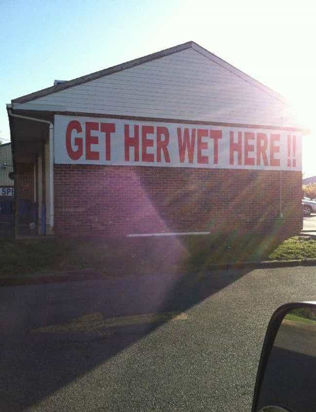 30 Dirty Slogans That Businesses Somehow Got Away With