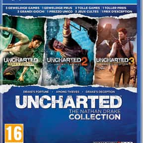 Uncharted: the Nathan Drake Co is listed (or ranked) 3 on the list The Best PlayStation 4 Action Games