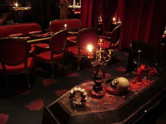 Vampire Cafe - Where You Dine ... is listed (or ranked) 4 on the list 13 Totally Absurd Themed Cafes That Could Only Be In Japan