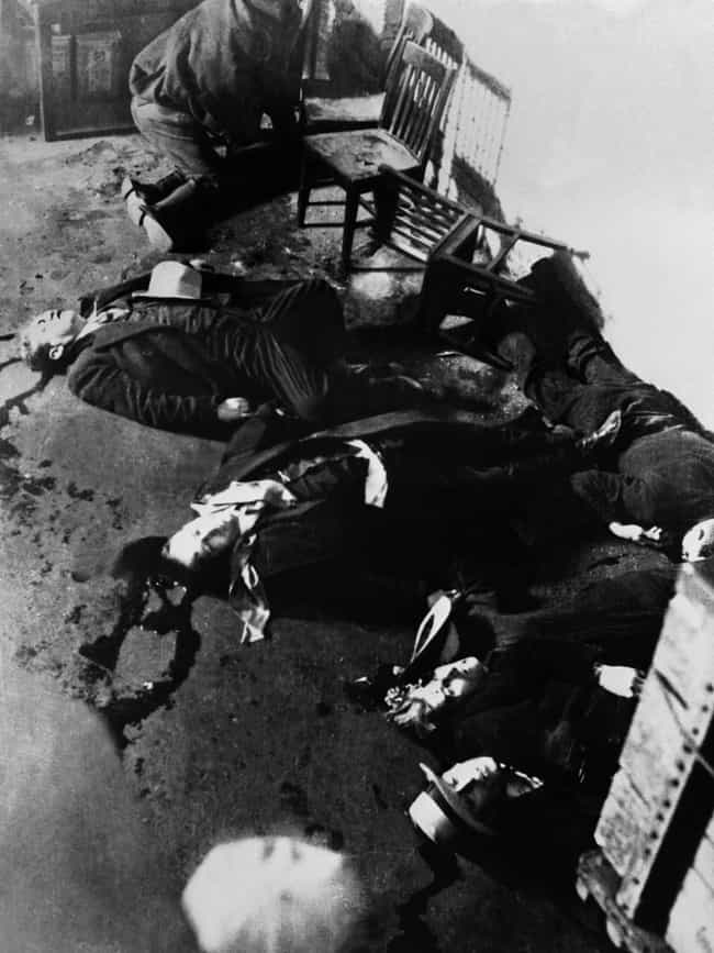 The Most Infamous Crime Scene Photos Of All Time