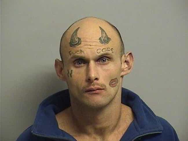 The Most Out Of Control Face Tattoos Captured By The Mugshot Camera