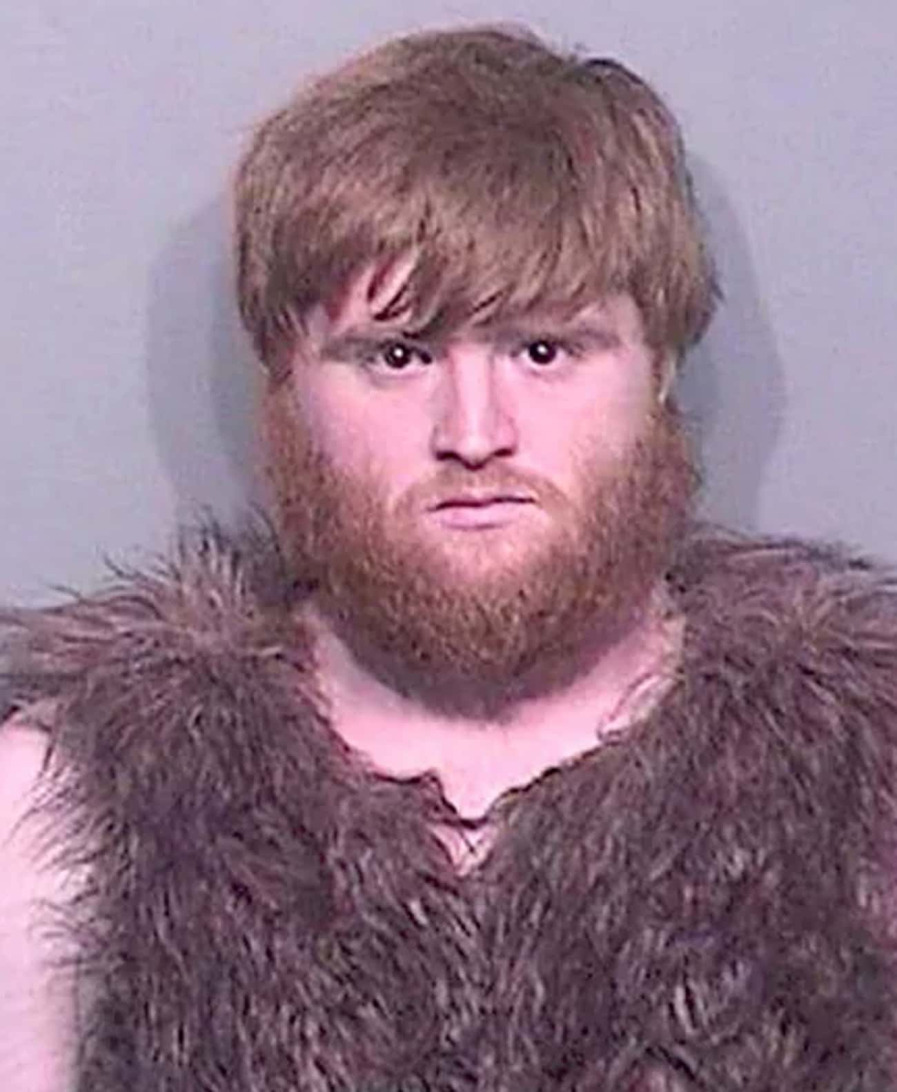 The Caveman Life Chose Him is listed (or ranked) 2 on the list 25 Hilarious Vegas Mugshots That Definitely Did Not Stay In Vegas