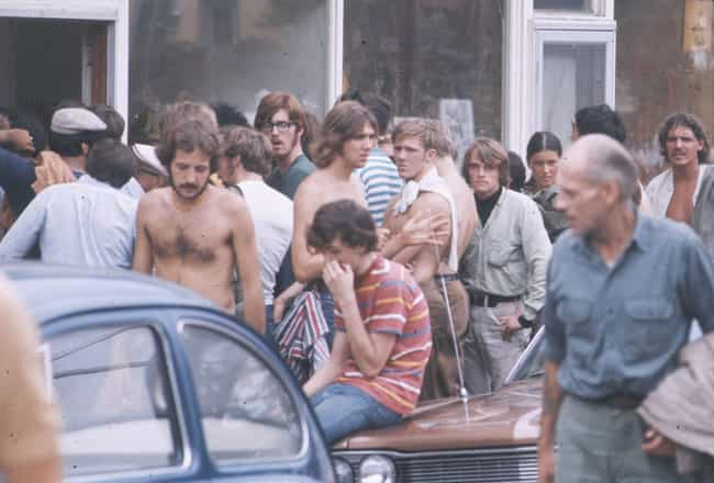 There Was A 20-Mile Traffic Ja... is listed (or ranked) 2 on the list People At Woodstock Describe What It Was Really Like