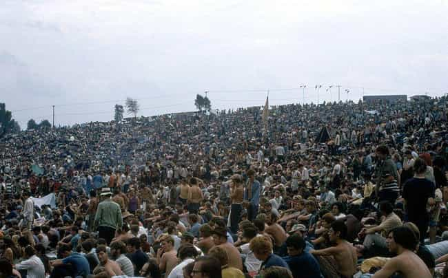 The Music Was Outstandin... is listed (or ranked) 8 on the list People At Woodstock Describe What It Was Really Like