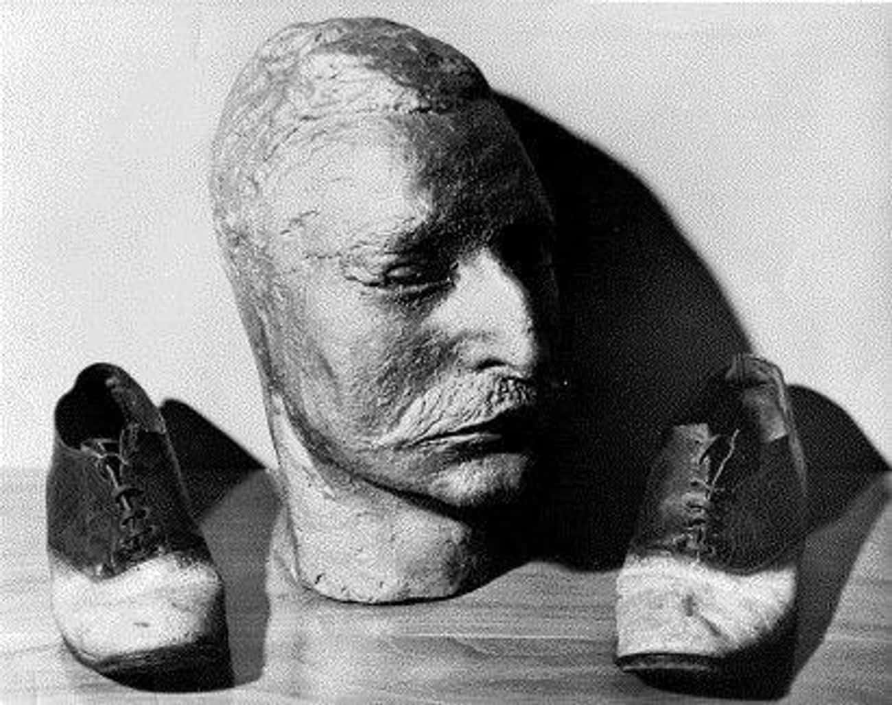 Mask And Skin Shoes Of Cattle  is listed (or ranked) 3 on the list 15 Unsettling Photos of the Wild West