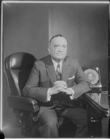 A Police Report Indicates He M is listed (or ranked) 1 on the list 14 Strange Facts About J. Edgar Hoover, The Eccentric Father of the Modern FBI