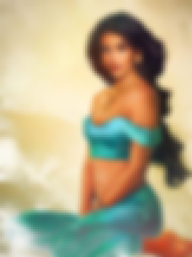 Jasmine, 'Aladdin' is listed (or ranked) 2 on the list What Your Favorite Disney Characters Look Like As Real People