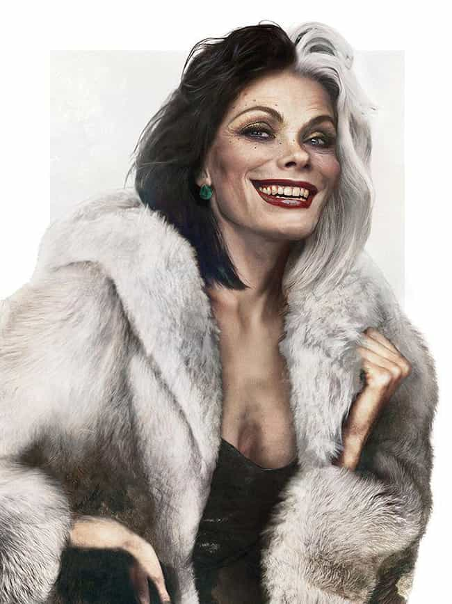 Cruella de Vil, '101 Dal... is listed (or ranked) 4 on the list What Your Favorite Disney Characters Look Like As Real People