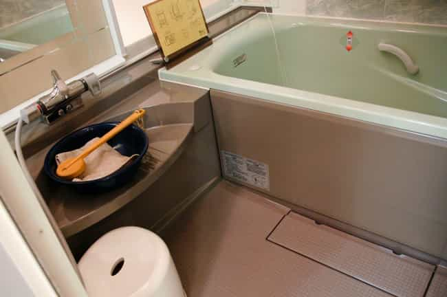 The Bathtub Doesn't Have To Compete With The Toilet