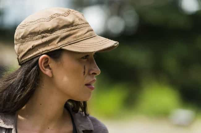 Gotta Love Rosita's Sass is listed (or ranked) 4 on the list 17 Awesome Things That Happened On The Walking Dead Midseason Premiere