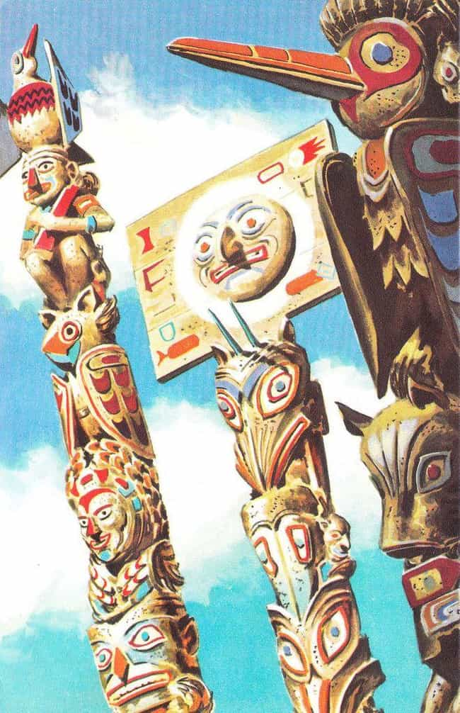 Not All Native American ... is listed (or ranked) 2 on the list Everything You Ever Wanted to Know About Totem Poles