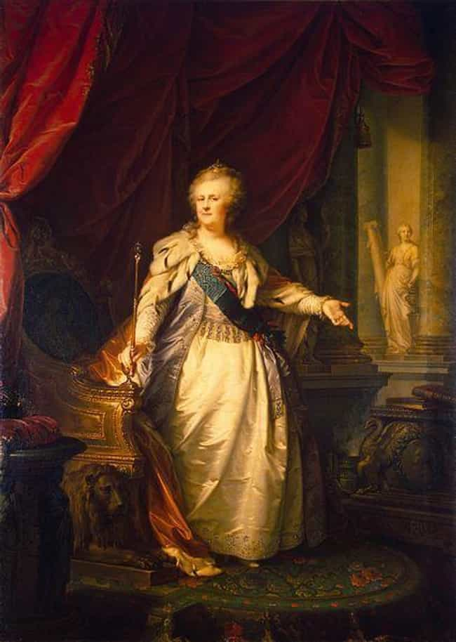 She Was Rumored To Have ... is listed (or ranked) 2 on the list Dramatic Facts About Catherine The Great, Lusty Lover And Iron-Fisted Ruler