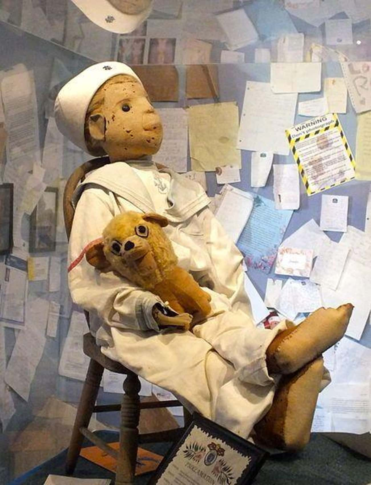 Robert The Doll Is On Display  is listed (or ranked) 2 on the list 10 Terrifying Creepypastas With Real-Life Roots