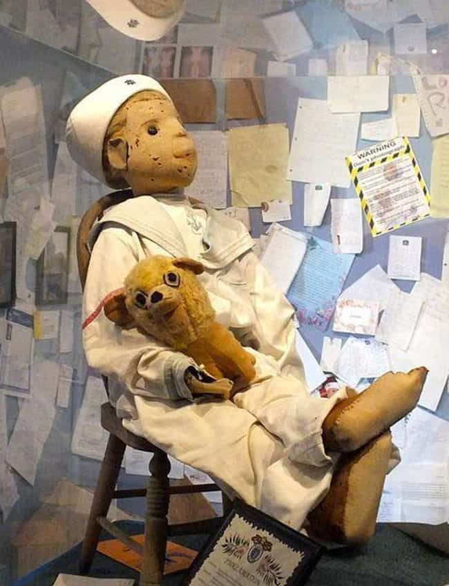 Robert The Doll Is On Display ... is listed (or ranked) 2 on the list 10 Terrifying Creepypastas With Real-Life Roots