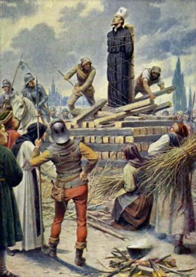 The Protestant Reformation Was... is listed (or ranked) 1 on the list 14 Grisly Facts About The Deadliest Wedding In History