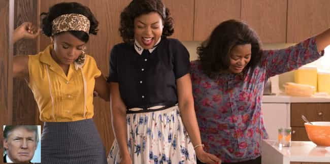 Hidden Figures: My African-Ame... is listed (or ranked) 2 on the list Donald Trump's Least Favorite Films
