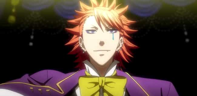 Joker - 'Black Butler' ... is listed (or ranked) 4 on the list 13 Anime Clowns You Definitely Don't Want To Mess With