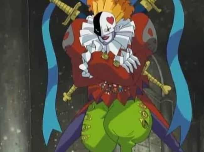 Piedmon - 'Digimon Adven... is listed (or ranked) 7 on the list 13 Anime Clowns You Definitely Don't Want To Mess With