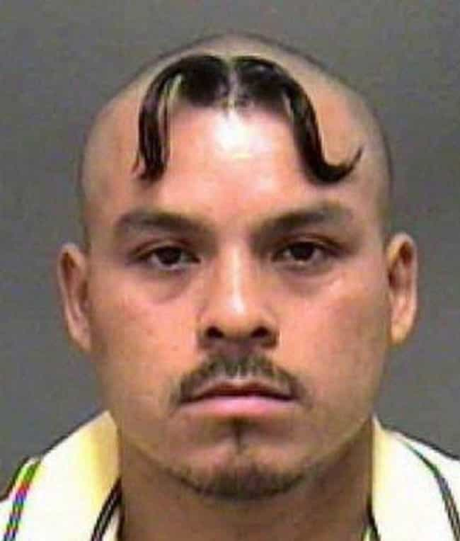 Taking Your Stache To New Heig... is listed (or ranked) 4 on the list 27 Of The Most Embarrassing Mugshot Hairdos Ever