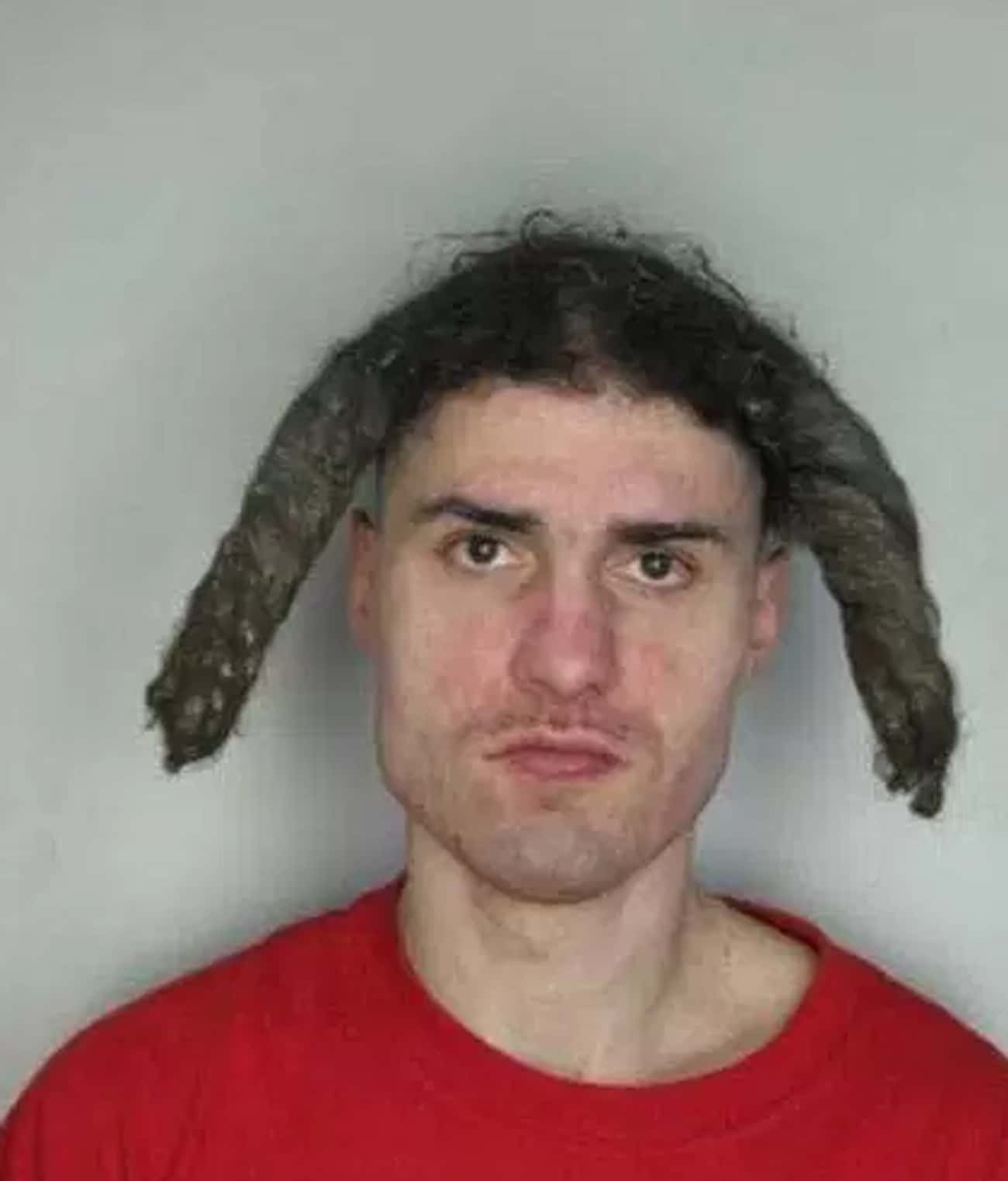 Handlebars Behind Bars is listed (or ranked) 1 on the list 27 Of The Most Embarrassing Mugshot Hairdos Ever