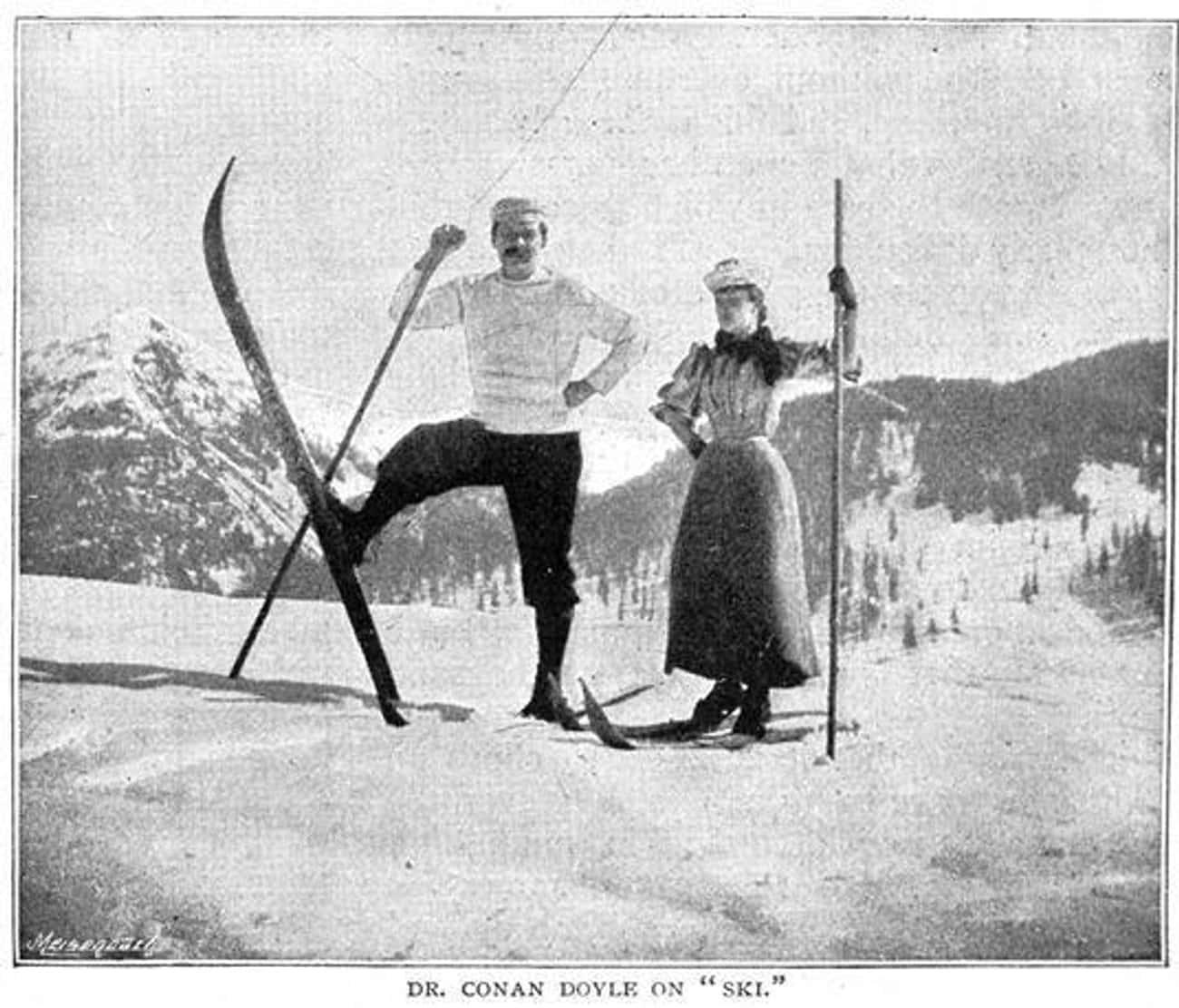 He Popularized Skiing