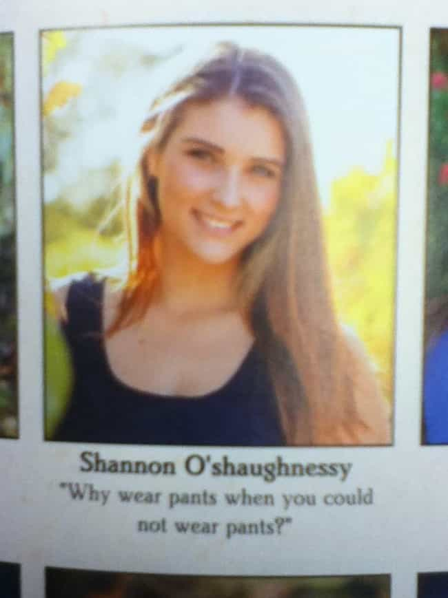 25 Oddly Sexual Yearbook Quotes
