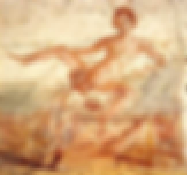 This Fresco Of Going Downtown ... is listed (or ranked) 2 on the list 20 Dirty Pieces Of Artwork From Pompeii, The Kinkiest City Of Ancient Rome