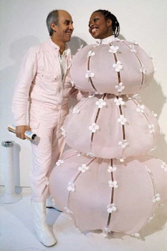 Three Balls, One Bride ... is listed (or ranked) 3 on the list The Absolute Weirdest Wedding Dresses Ever