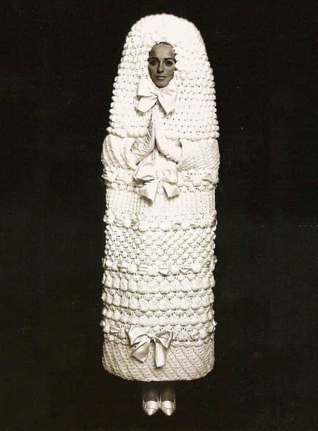 The Cocoon is listed (or ranked) 2 on the list The Absolute Weirdest Wedding Dresses Ever