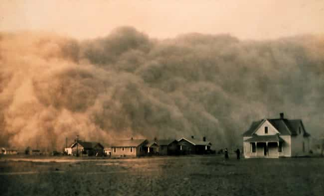 Dust Storm Approaching Stratfo... is listed (or ranked) 3 on the list 20+ Powerful, Bleak Photographs From the Dust Bowl