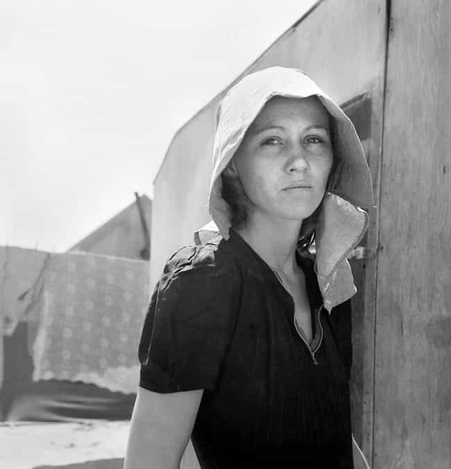 Young, Migratory Mother, Calif... is listed (or ranked) 4 on the list 20+ Powerful, Bleak Photographs From the Dust Bowl