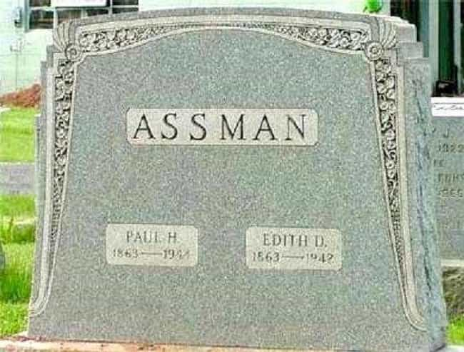 Cosmo Kramer's Tombstone... is listed (or ranked) 3 on the list Tombstones Of People Who Had Really Unfortunate Names