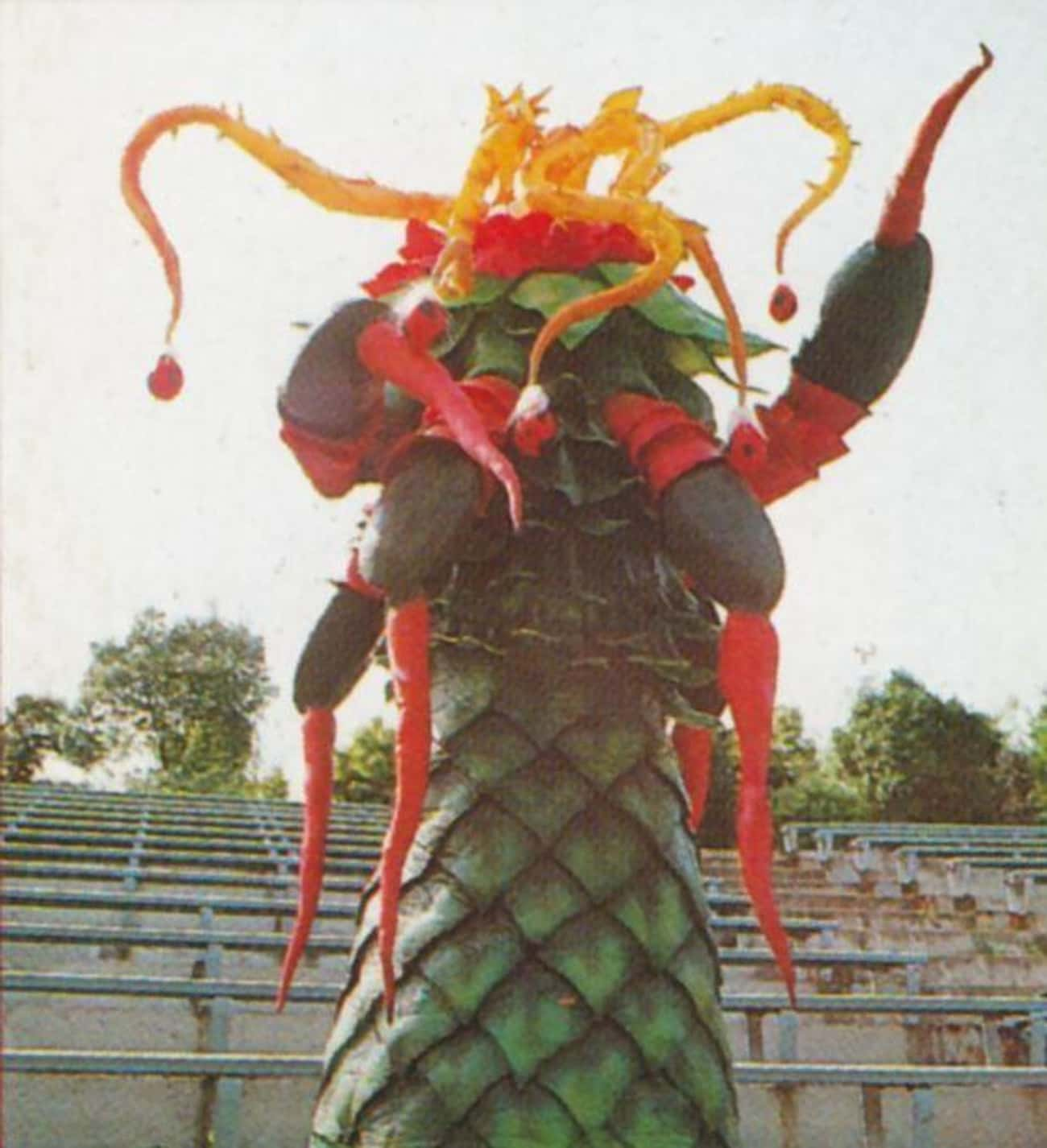 Pineoctopus is listed (or ranked) 4 on the list The 25 Worst Power Rangers Monsters That Were Too '90s For Words