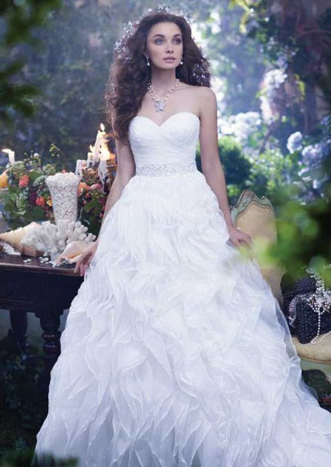 Ariel is listed (or ranked) 8 on the list 25 Gorgeous Wedding Dresses Inspired By Disney