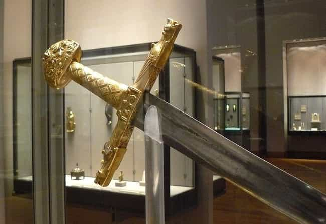 Joyeuse is listed (or ranked) 3 on the list The 13 Most Infamous Weapons Throughout World History