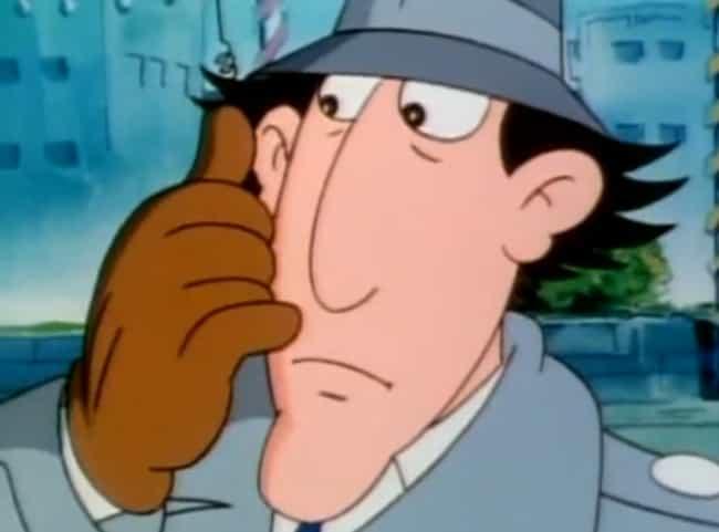 inspector gadget looking worried