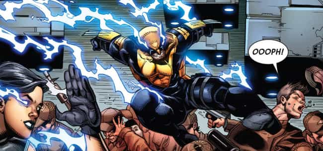 He's Seriously Overpower... is listed (or ranked) 1 on the list Wolverine Really Isn't As Cool As You Think He Is