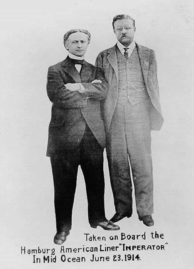 Harry Houdini And Theodo... is listed (or ranked) 3 on the list Photos of Historical Legends Hanging Out With Each Other