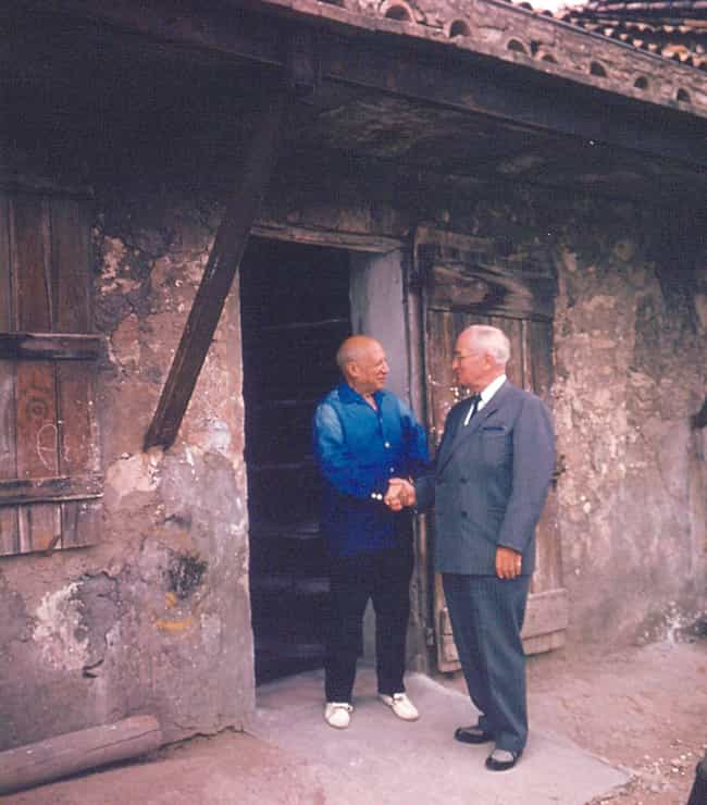Harry S. Truman And Pabl... is listed (or ranked) 4 on the list Photos of Historical Legends Hanging Out With Each Other