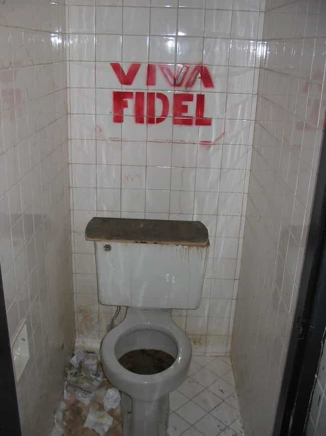 In Cuba, You Have To Bring You... is listed (or ranked) 2 on the list Weird Things You Didn't Know About Bathrooms In Countries Other Than The US