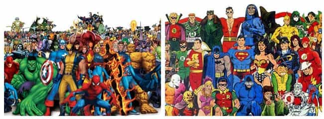 Marvel Vs DC is listed (or ranked) 1 on the list 14 Fictional Universe Battles We'd Pay To See