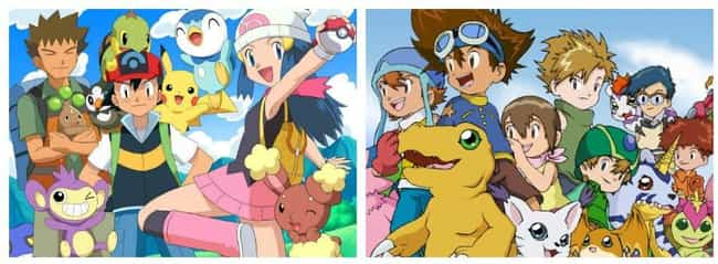 Pokemon Vs Digimon is listed (or ranked) 4 on the list 14 Fictional Universe Battles We'd Pay To See