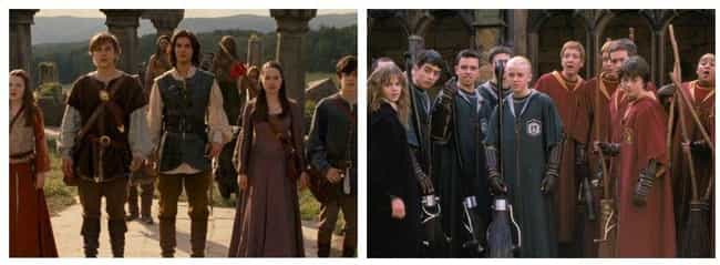 Chronicles Of Narnia Vs Harry ... is listed (or ranked) 4 on the list 14 Fictional Universe Battles We'd Pay To See