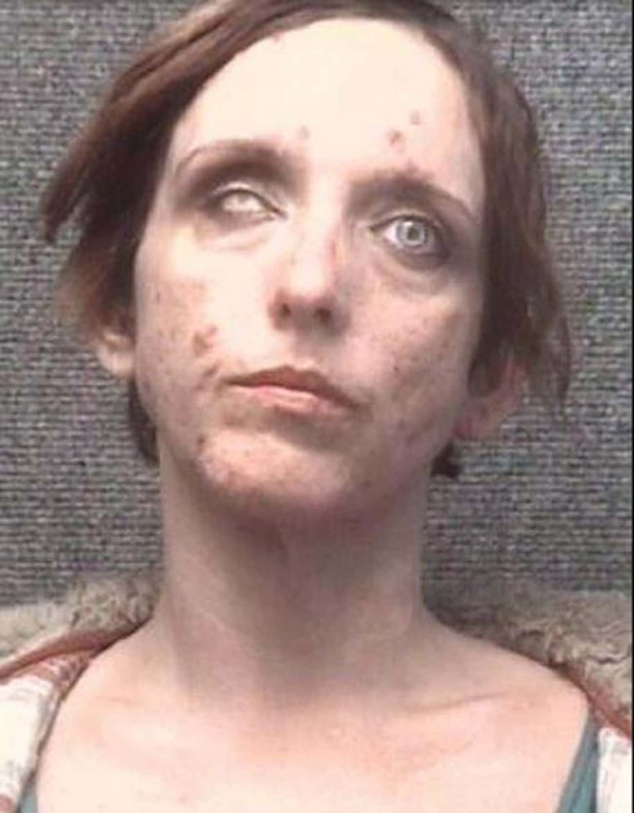 Marylin Manson Would Be Proud is listed (or ranked) 1 on the list Scary Mugshots Of People You Wouldn't Want To Share A Cell With