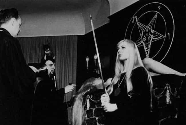 Is This One Or Many Rituals At... is listed (or ranked) 2 on the list Real Photos From The Heyday Of The Church Of Satan