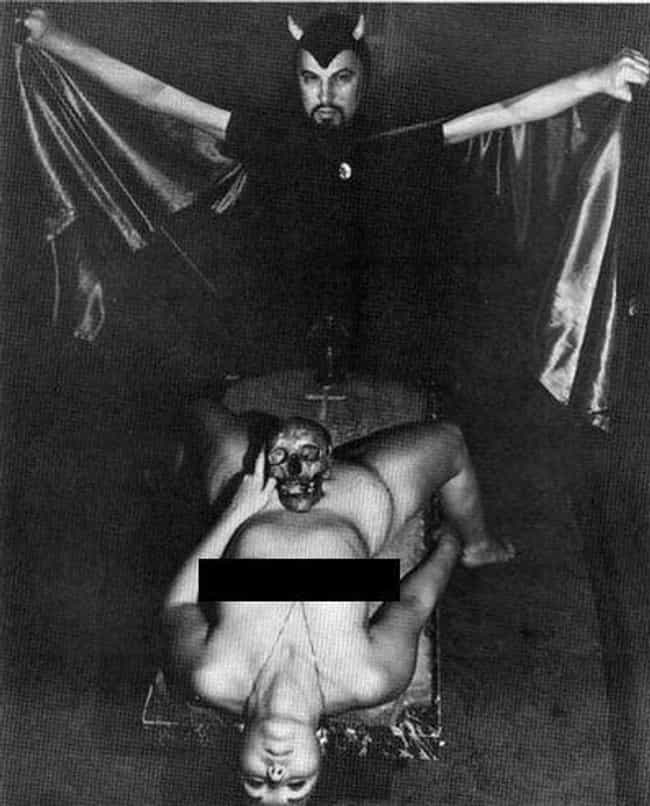 What A Lucky Skull is listed (or ranked) 4 on the list Real Photos From The Heyday Of The Church Of Satan
