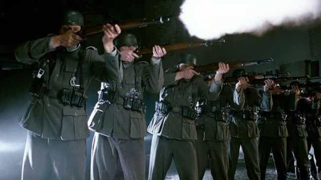 Firing Squads is listed (or ranked) 3 on the list 10 Gruesome Execution Methods You Won't Believe Still Happen Around The World