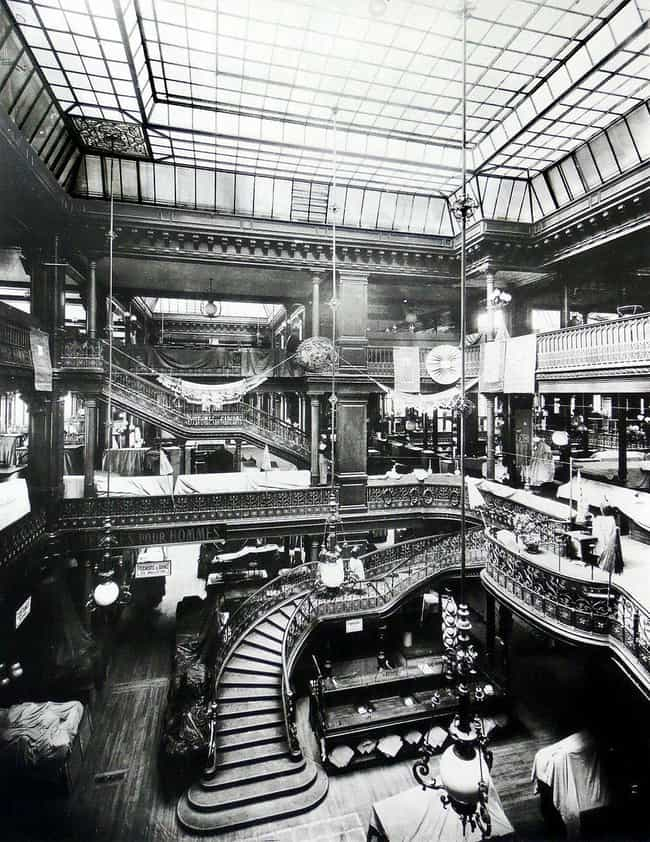 Le Bon Marché, Paris, 1... is listed (or ranked) 1 on the list 21 Striking Photos Showing How Department Stores Have Evolved Through History